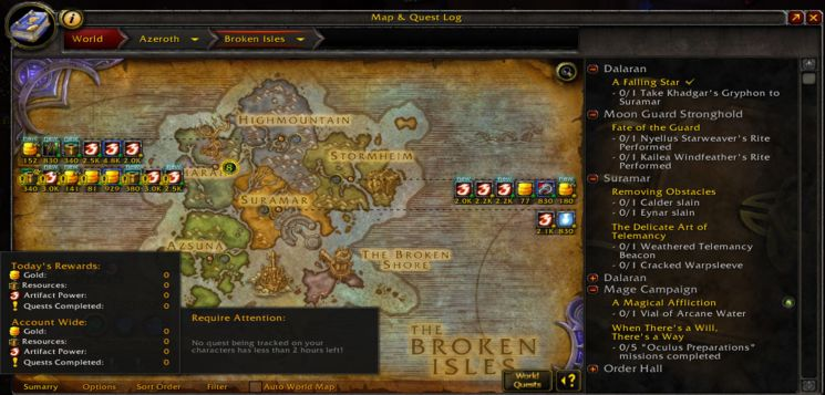 Аддон WorldQuestTracker для World Of Warcraft
