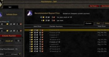 Auctionator для World Of Warcraft